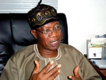 The Minister of Information and Culture, Lai Mohammed,