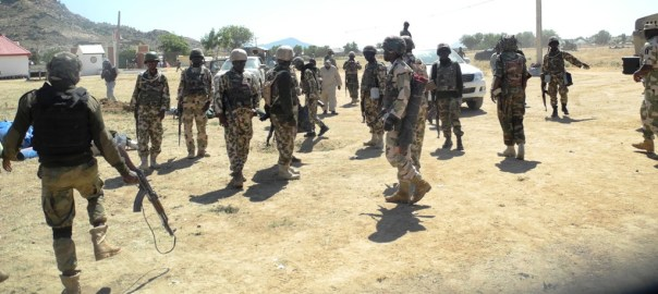 FILE PHOTO: Nigerian Soldiers