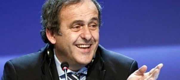 former FIFA Vice President, Michel Platini,