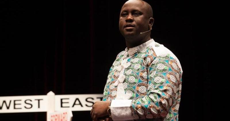 FILE PHOTO: Pius Adesanmi delivering a TedEx speech. Image courtesy: Adesanmi Facebook Page