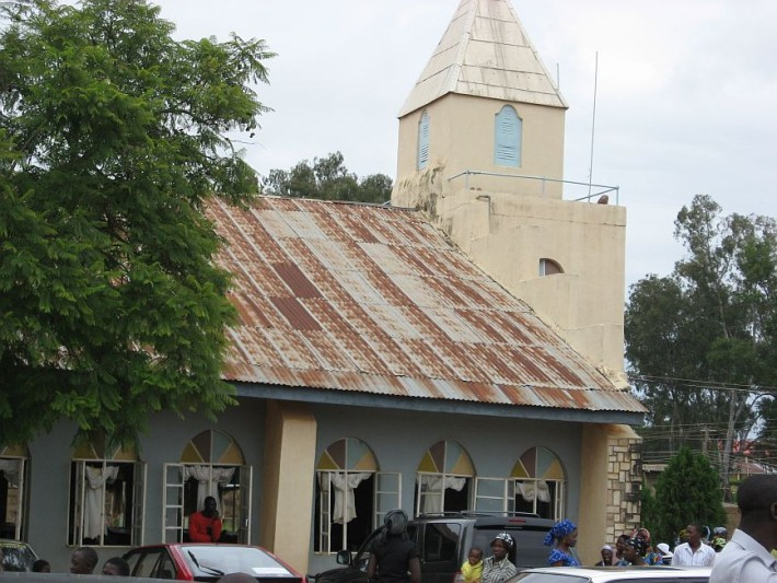 A Church used to illustrate the story