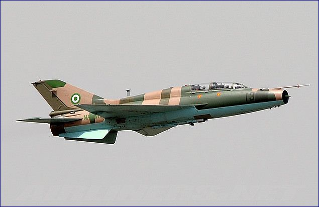 Nigerian Air Force fighter jet