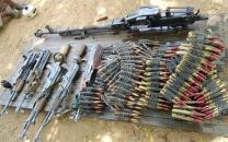 Artillery recovered by the Nigerian Military in Gwoza