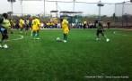 Former President Olusegun Obasanjo displaying soccer skill