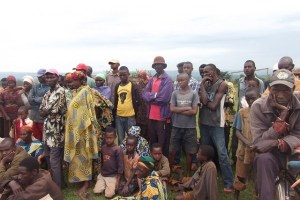 FILE PHOTO: A cross-section of internally displaced persons