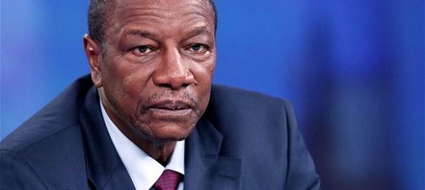 Guinean President, Alpha Condé
