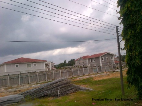 Jonathan's new home in Otuoke