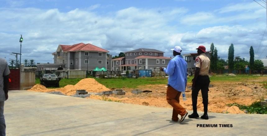 Photo news jonathans new home in otuoke premium times nigeria photo news jonathans new home in otuoke voltagebd Images
