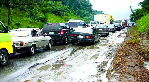 Calabar-Itu road Photo Credit: thenationonlineng.net