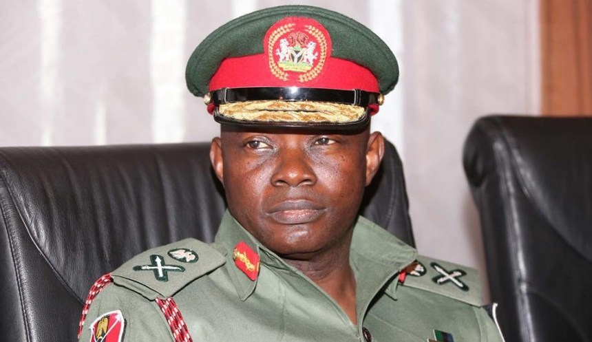 Chief of Defence Staff, Abayomi Gabriel Olonishakin