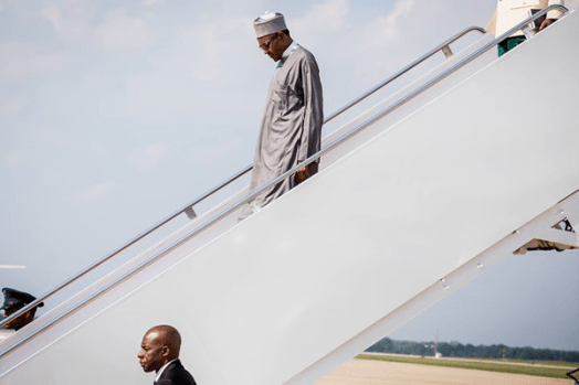 Buhari Meets Obama arrival1