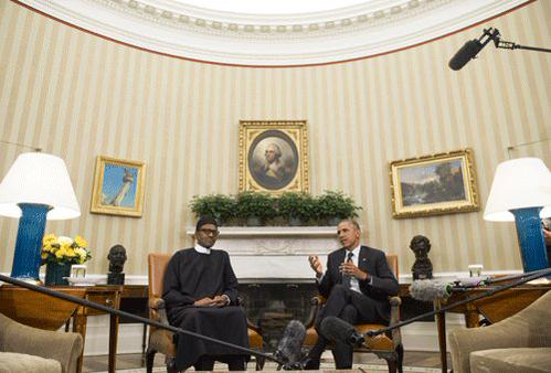 Buhari Meets Obama1