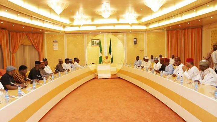 Buhari meets house of reps6