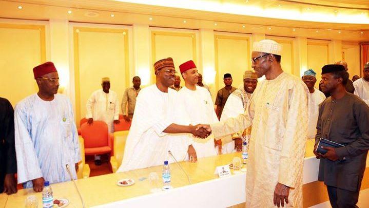 Buhari meets house of reps7