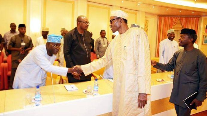 Buhari meets house of reps8
