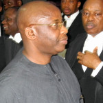 FILE PHOTO: Former Imo state governor, Ikedi Ohakim, arriving an Abuja court for  corruption trial.