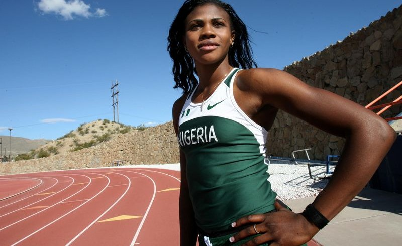 Blessing Okagbare; Photo: allAfrica
