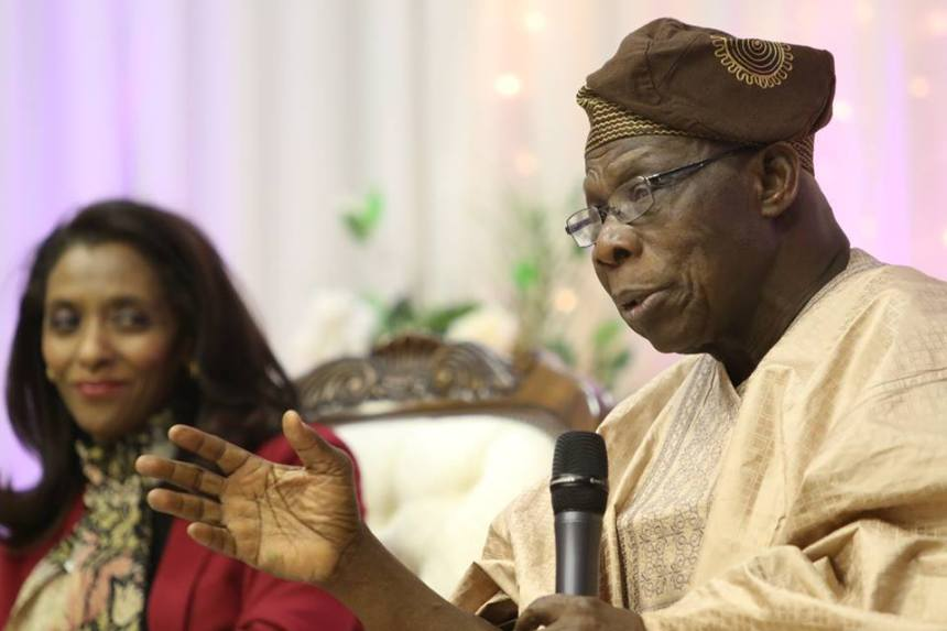 Olusegun Obasanjo  Photo: Atom Lim