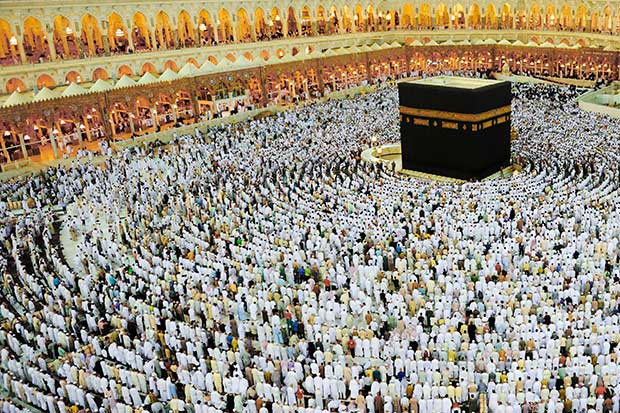 Umrah Banner: Hajj 2018: Two Million People Expected