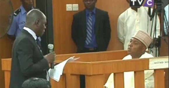 Senate President, Bukola Saraki, docked by the Code of Conduct Bureau