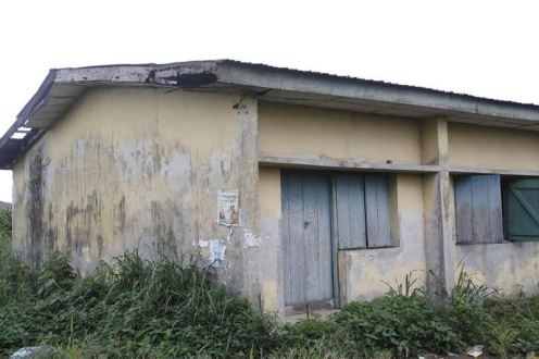 One of the dilapidated schools; Photo: LindaIkeji
