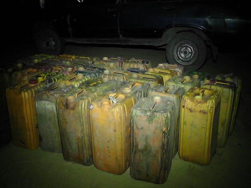 FILE PHOTO: Boko Haram fuel dump uncovered