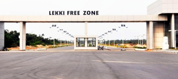 Lekki Free Trade Zone (FTZs) used to illustrate the story on industrial parks