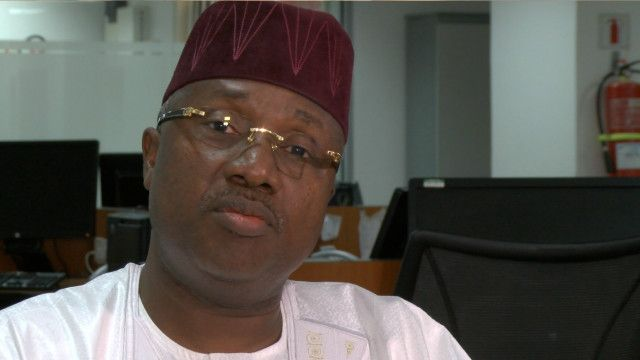 Governor Jibrilla Bindow Photo: BBC Hausa