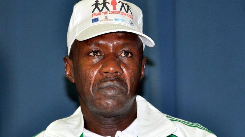 Suspended EFCC Chairman, Ibrahim Magu