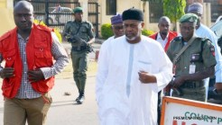 Former NSA Sambo Dasuki and others arraigned over misappropriation at the FCT High Court in Abuja