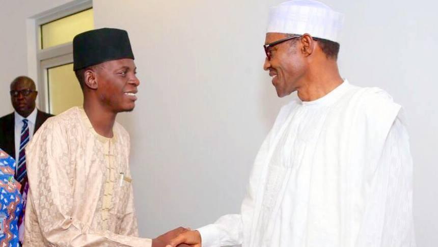President Muhammadu Buhari and Special Assistant on New Media Bashir Ahmed