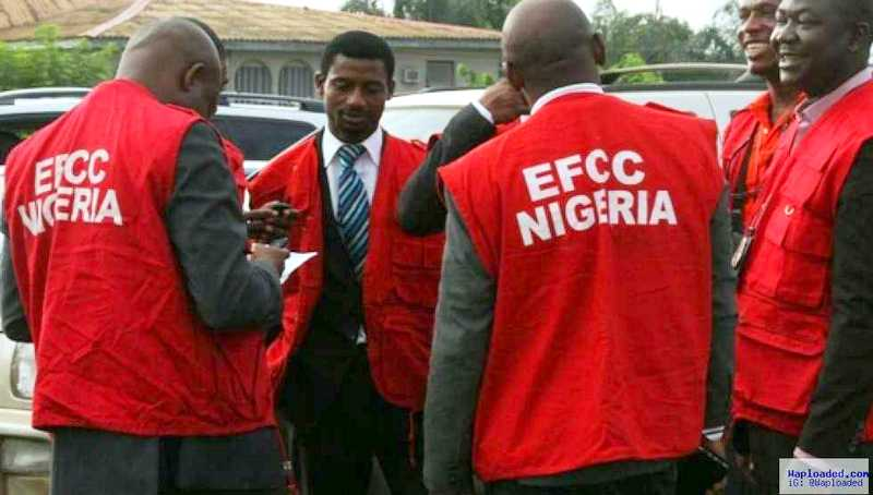 EFCC Operatives used to illustrate the story.