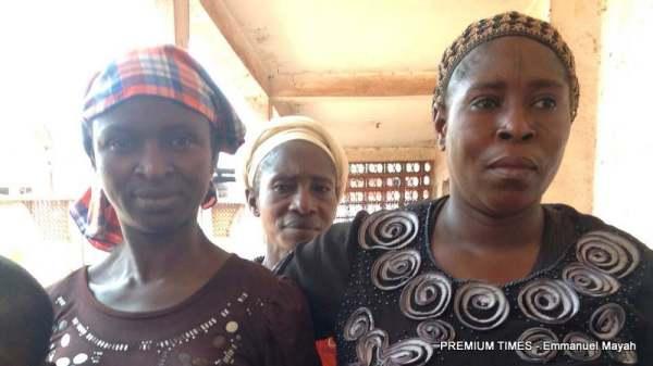 Displaced women of Agatu