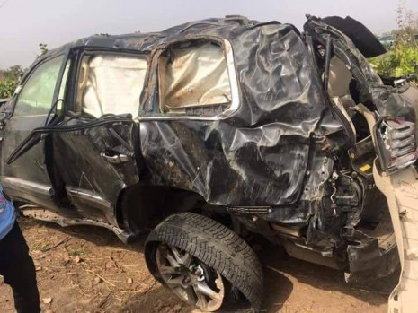 James Ocholi Accident