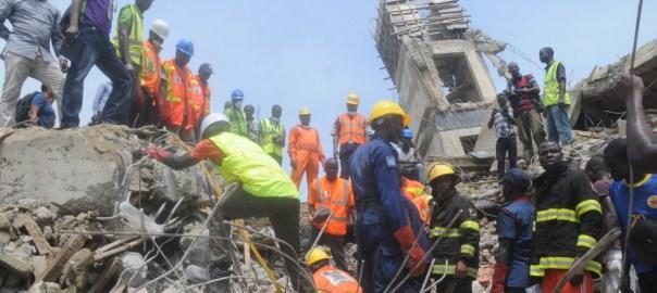 FILE PHOTO: Lekki Building Collapse