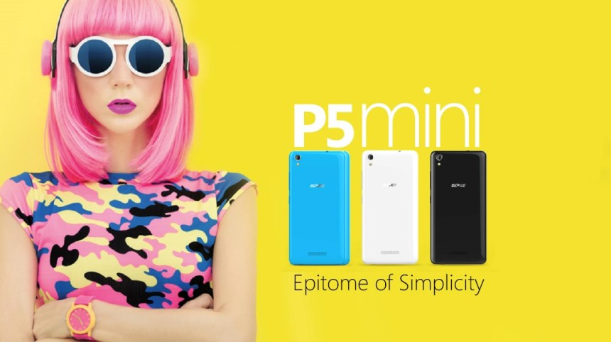 Introducing the Gionee P5 mini: All of style and colours