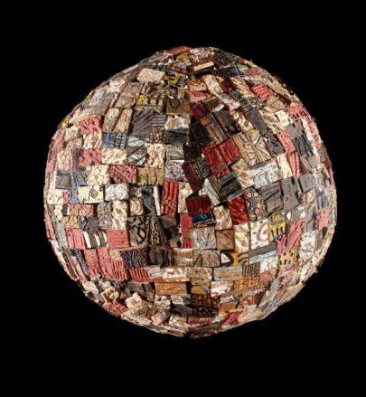 www.worldwithoutwar.com by Gerald Chukwuma, free standing wood sculpture, 5ft, 2016
