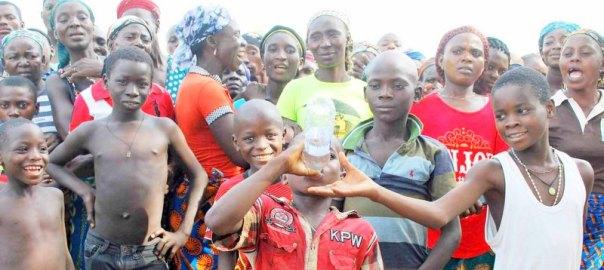 68TH BIRTHDAY OF FORMER SENATE PRESIDENT 68TH BIRTHDAY IN AILA IDPS CAMP IN AGATU, BENUE