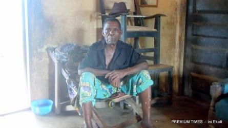 Oyi Akama, the village head of Owai community, Akamkpa, Cross River