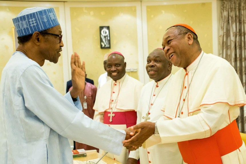 President Muhammadu Buhari and Catholic Bishops
