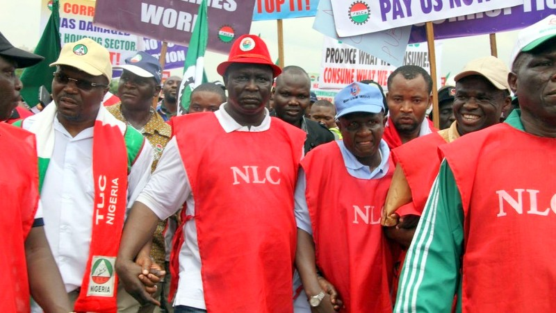 NLC Protest Photo: Buzz Nigeria
