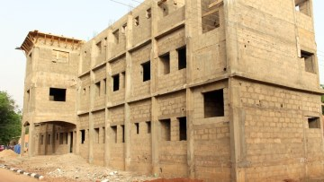 Ongoing work at the Noma Children Hospital.