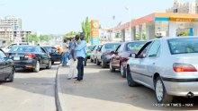 FILE PHOTO: Fuel queue in Abuja