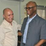 Cuban Ambassador to Nigeria, Carlos Trejo Sosa with APC Chairman, John Odigie-Oyegun