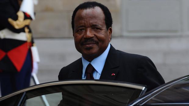 Cameroon President, Paul Biya
