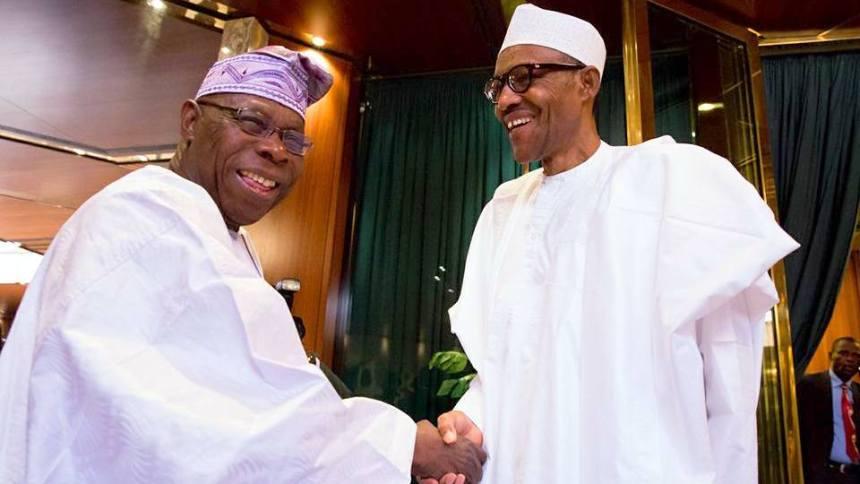 Image result for obasanjo buhari