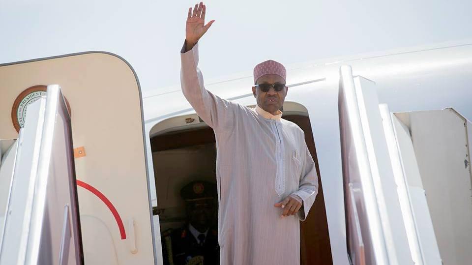 Buhari writes Senate, hands over to Vice President Osinbajo