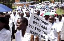 Resident Doctors On Strike