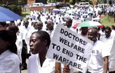 Resident Doctors On Strike