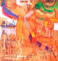 Duke Asidere, Back Seat mentality, 92 x 92 cm, 2015